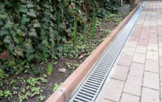 Az esővíz elvezető tisztítása